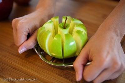 Apple Puffed Pancake Apple Slices