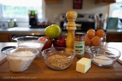 Apple Puffed Pancake Ingredients