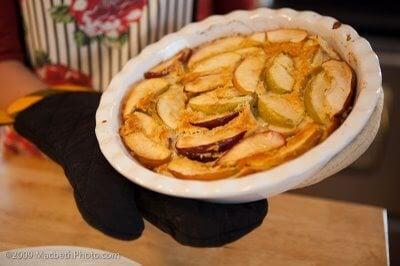 Apple Puffed Pancake Recipe
