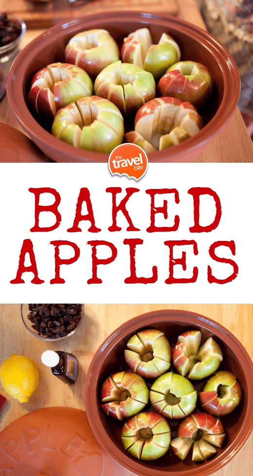 Baked Apples - TheTravelBite.com