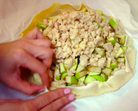 Apple Crostata - Shaping-Dough1
