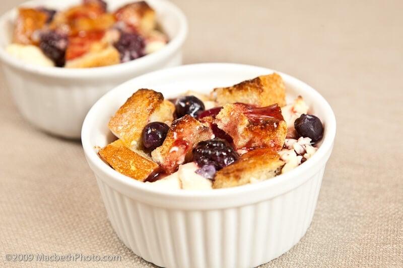 Berry & Cream Cheese Stuffed French Toast