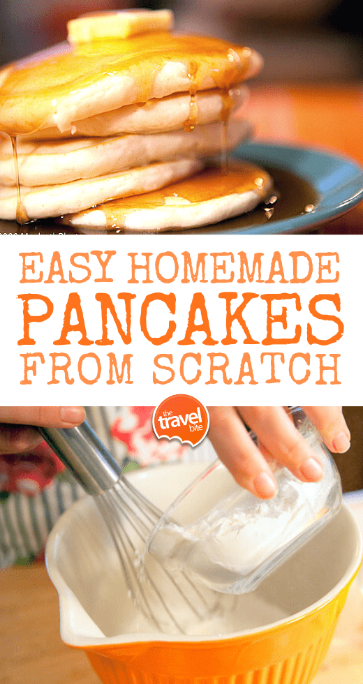 Easy Homemade Pancakes From Scratch
