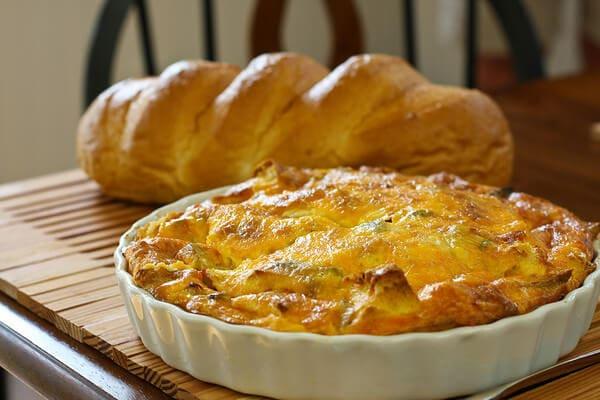 Italian Strata Breakfast Casserole