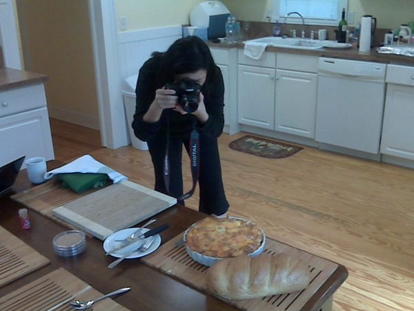 Jaden Taking Pics Of Italian Strata