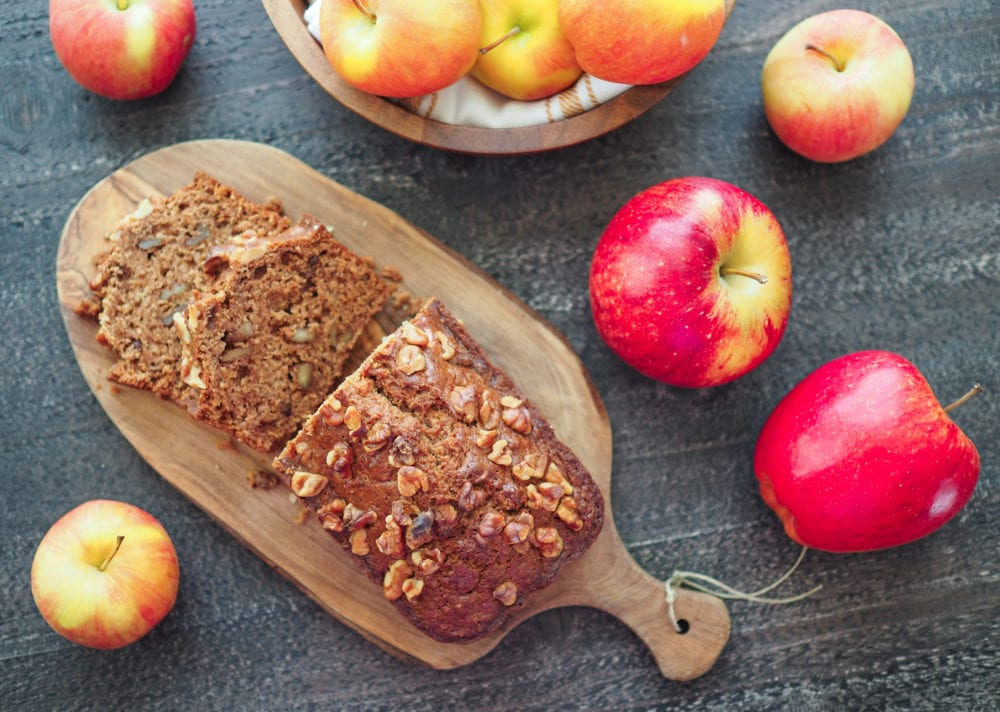 Spiced Apple Bread - TheTravelBite.com
