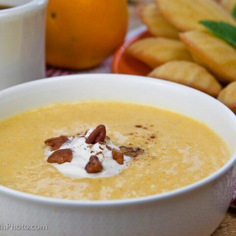 Peach Soup (aka Smoothie Bowl)