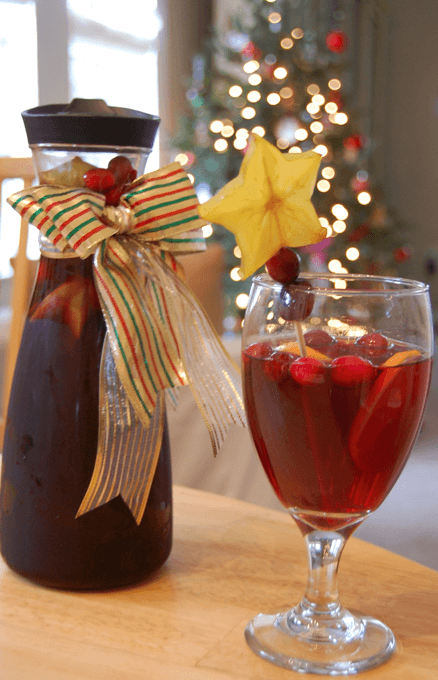 Holiday Sangria Featured Image