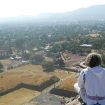 I learned that less than 25 miles northeast of town is the ancient archeological site of Teotihuacan.  Here anyone can spend the day climbing Aztec pyramids and exploring this ancient city.  I had to go! After spending the day stepping back in time, I have learned a few things Tips For Visiting Teotihuacan
