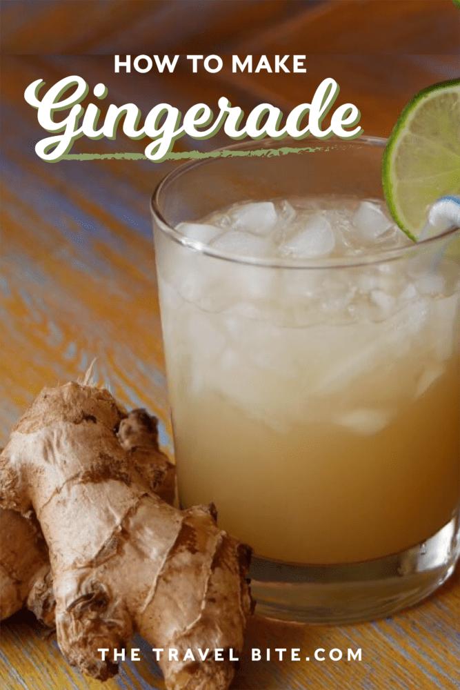 Ginger Limeade - TheTravelBite.com