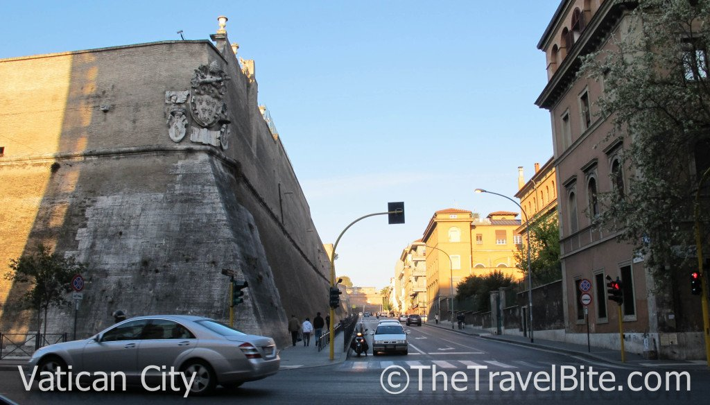 Walls Of The Vatican City State. Photo Credit:  Pete Wallace