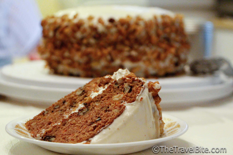 Carrot Cake Caribbean Recipe