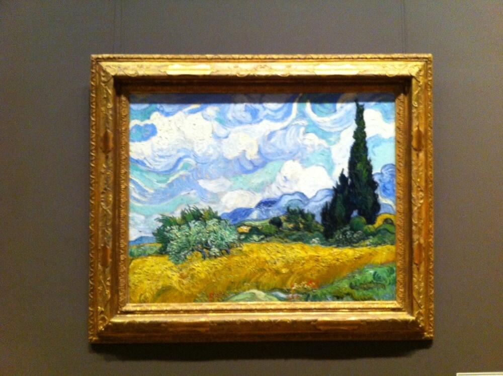 Van Gogh At The Met