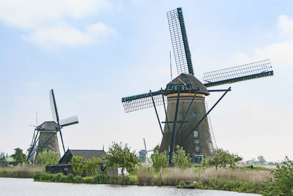 Kinderdijk: Windmills in Holland - TheTravelBite.com