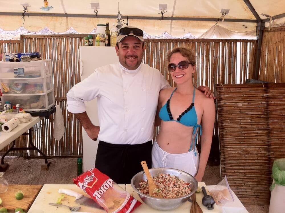 Baja Style Ceviche