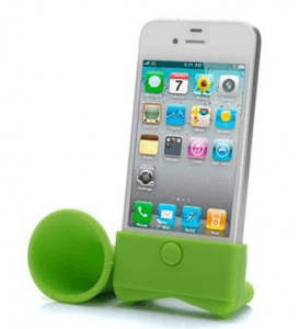 iPhone Silicone Speaker - Gifts For Travelers