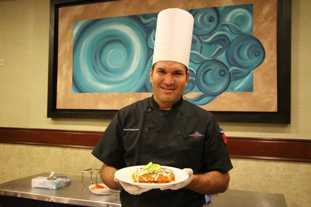 Chef Kelvin at the CasaMagna Puerto Vallarta Marriott