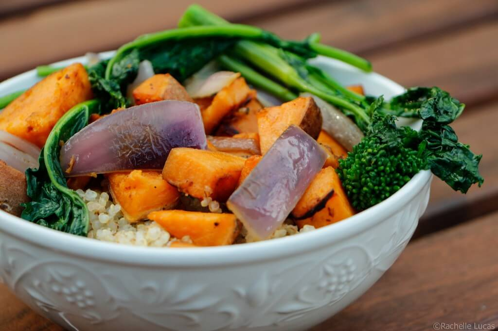 Roasted Sweet Potato and Quinoa-4