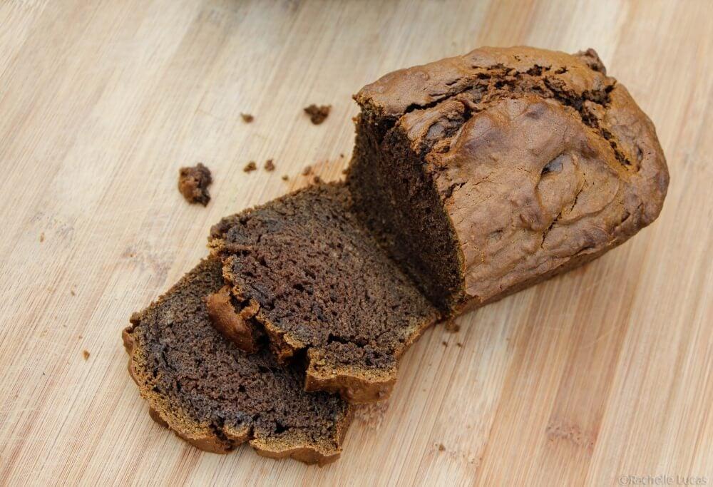 Sweet Mexican Vanilla Black Sapote Bread-1