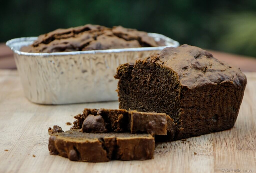 Sweet Mexican Vanilla Black Sapote Bread-5