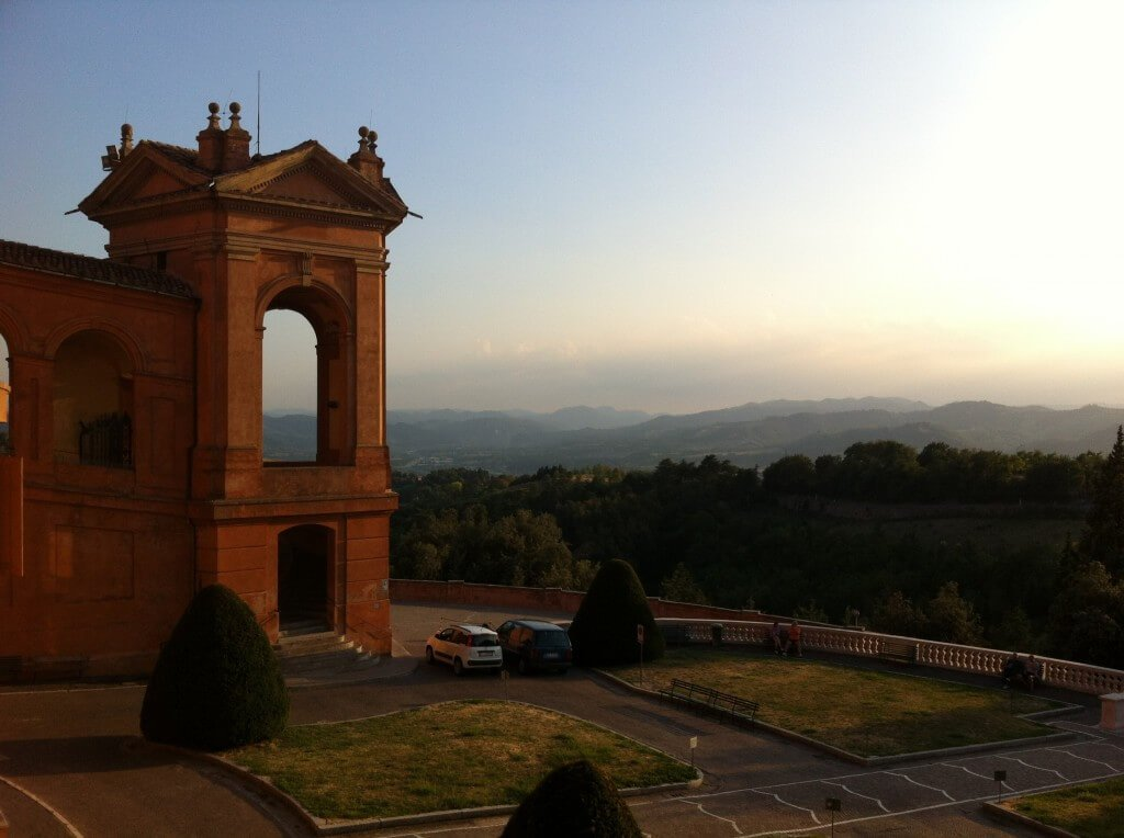 Bologna View From San Luca