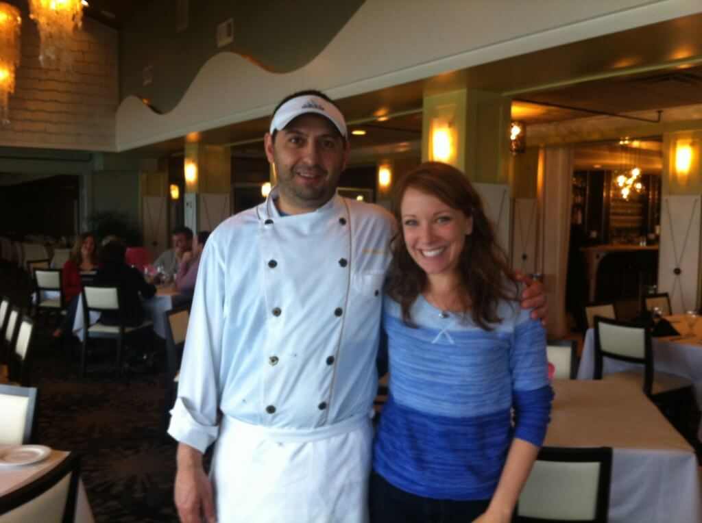 Chef Giovanni at Vue on 30A