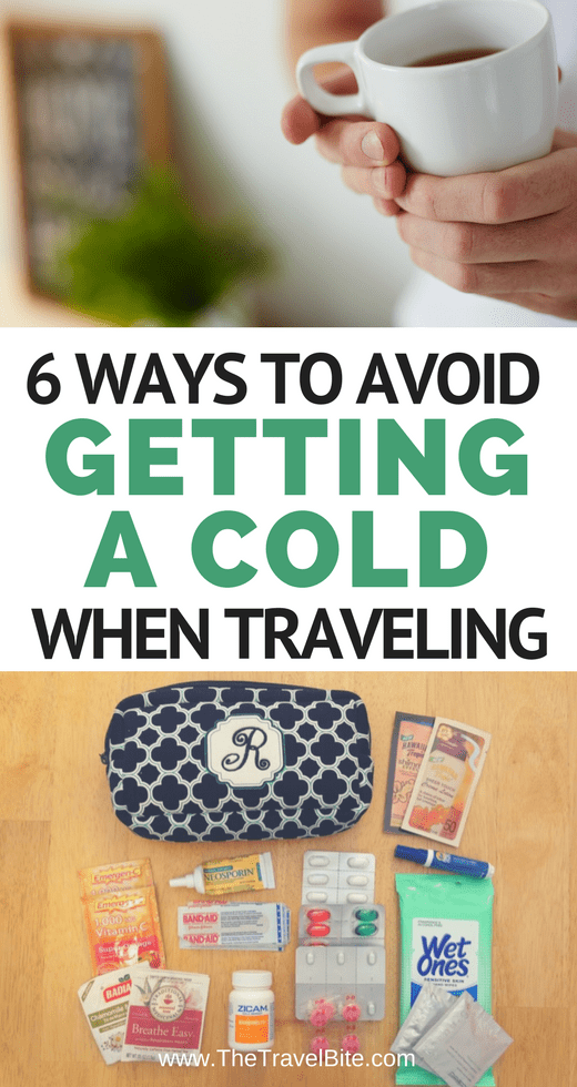 How To Avoid Getting A Cold While Traveling - TheTravelBite.com