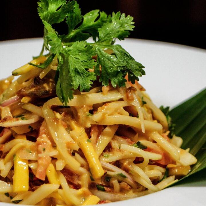 Myanmar Mango Salad