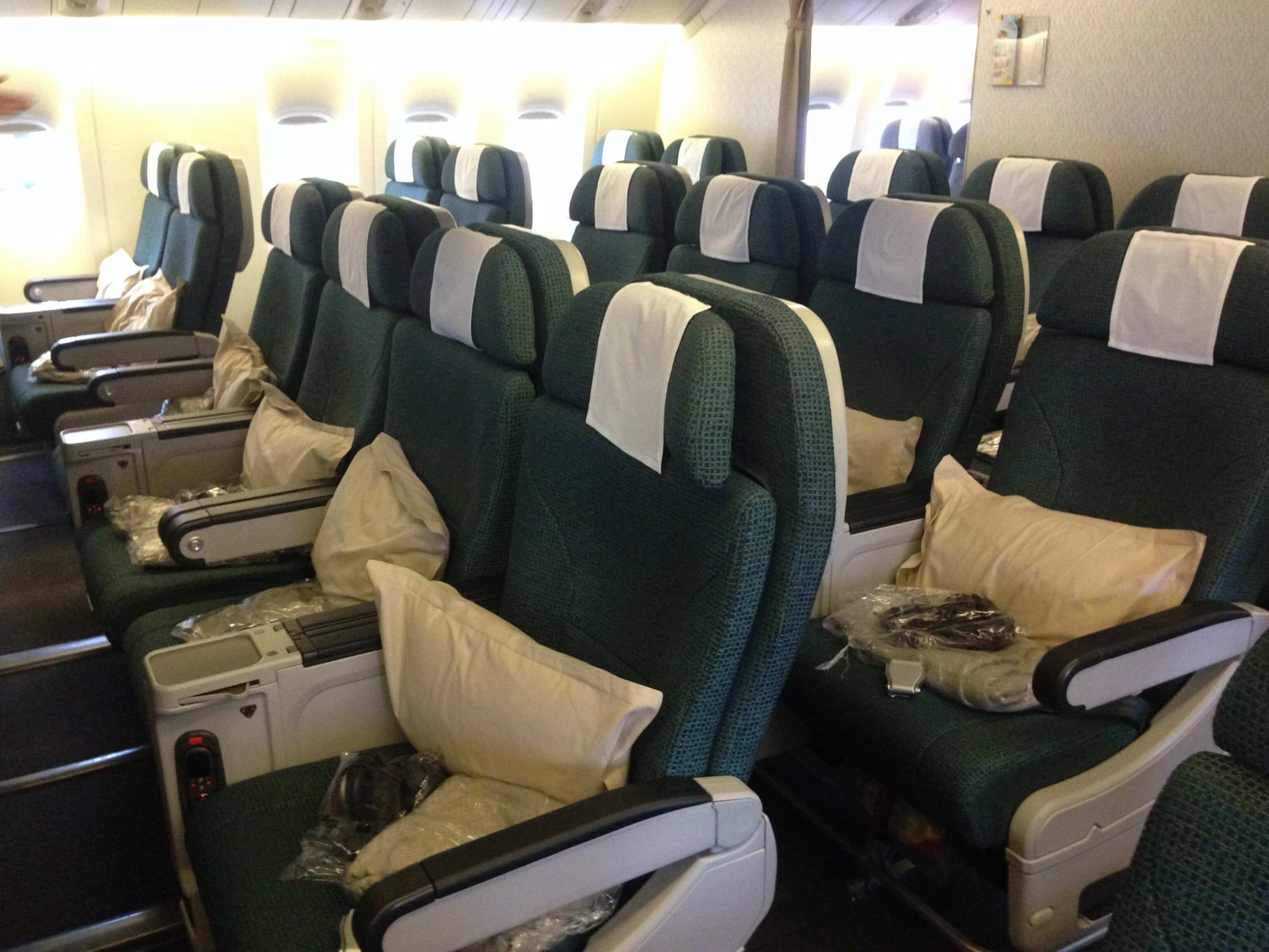 Review Of Cathay Pacific Premium Economy