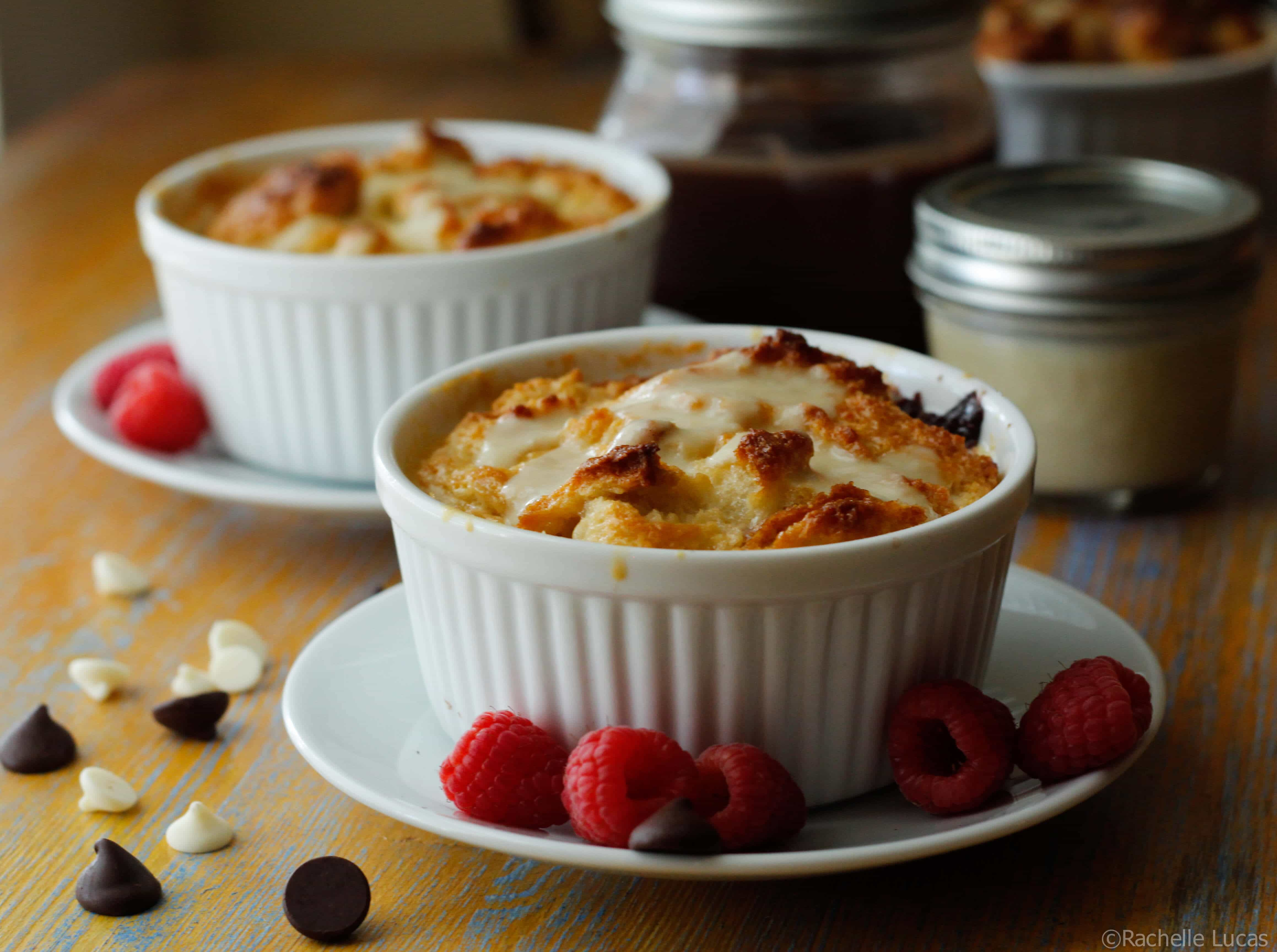 Bitter and Blanc Bread Pudding