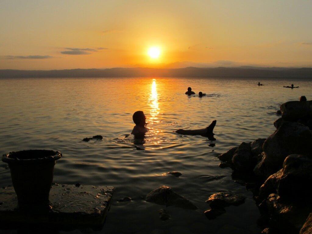 Dead Sea. Credit: Keith Jenkins, VelvetEscape.com