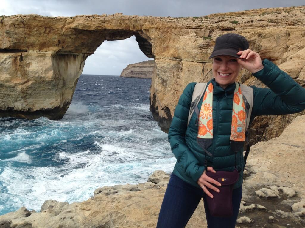 Rachelle in Malta