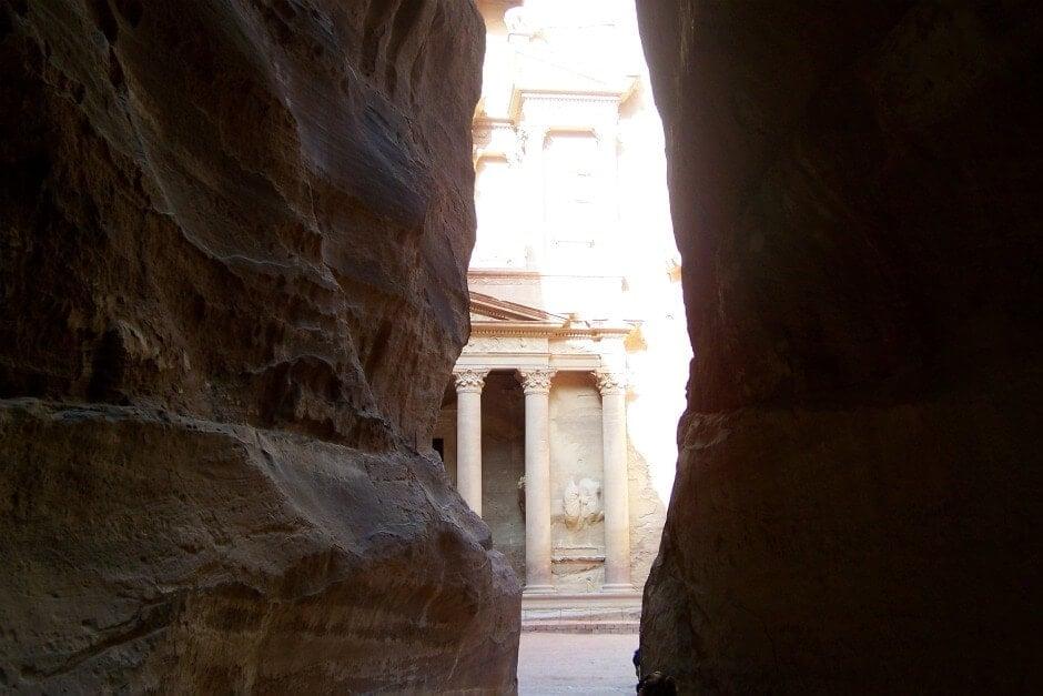Petra Siq View.  Credit:  Matt Long, LandLopers.com