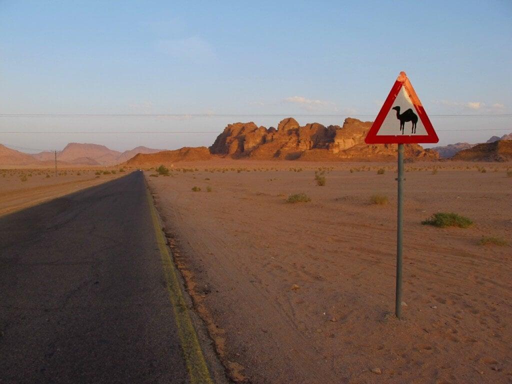 Wadi Rum Road. Credit:  Keith Jenkins, VelvetEscape.com