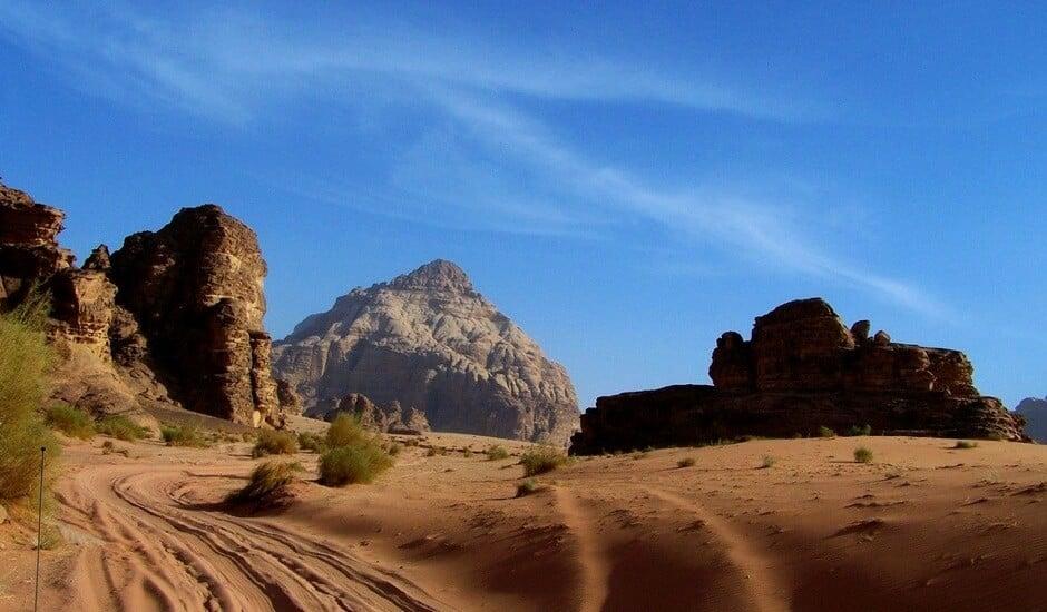Wadi Rum.  Credit:  Keith Jenkins, VelvetEscape.com