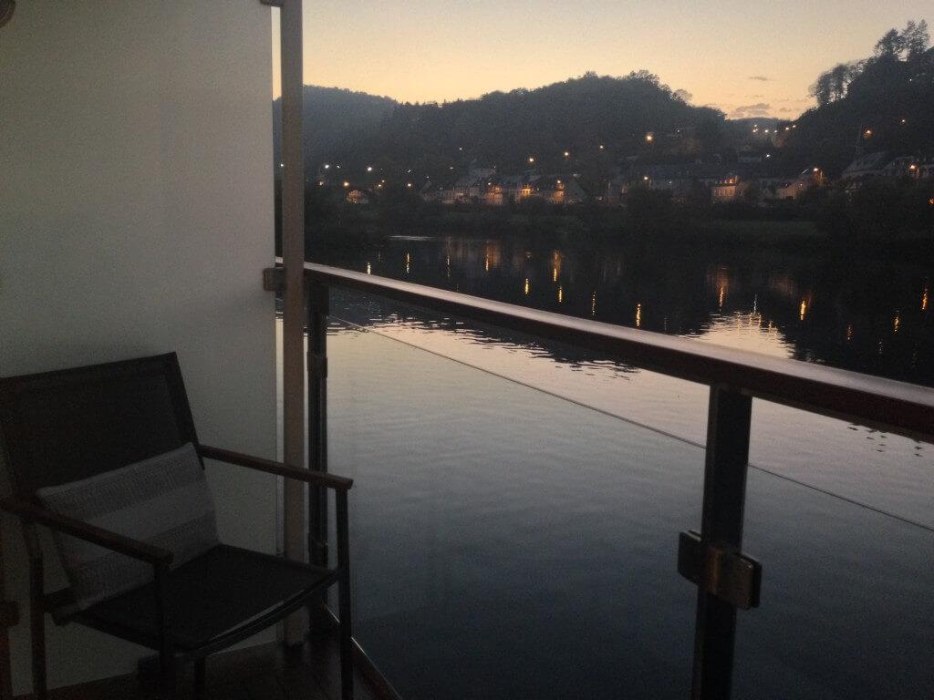 View from Viking Cruise balcony.