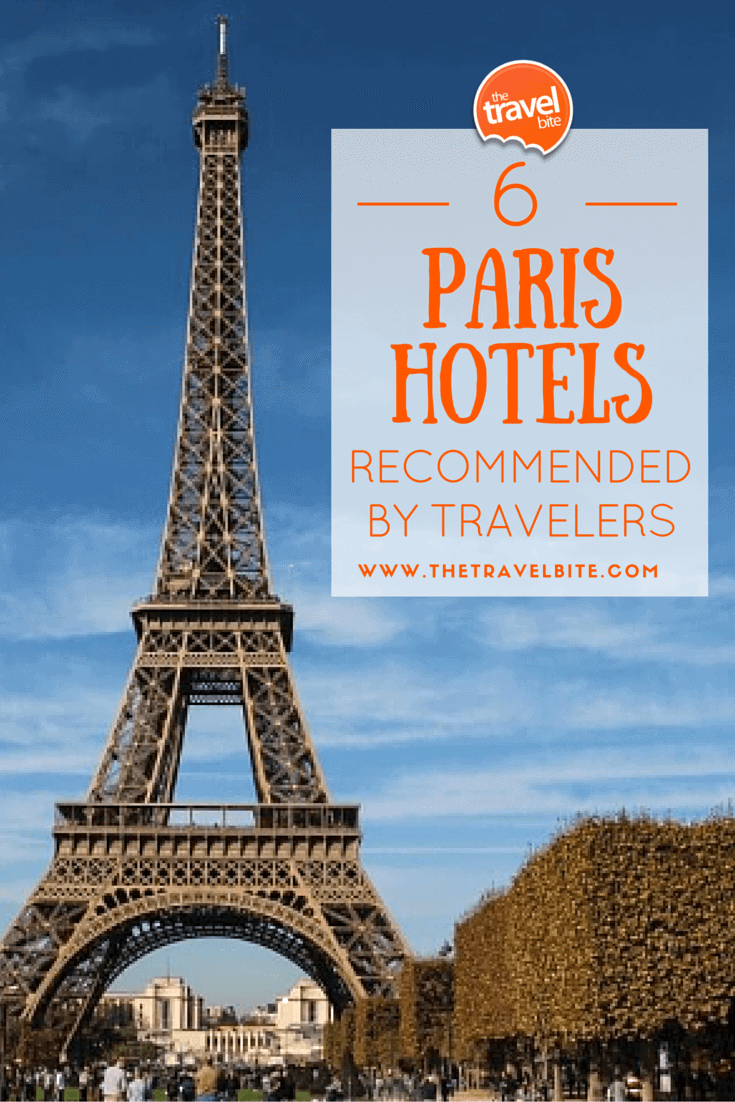 6 Paris Hotels Recommended By Travelers