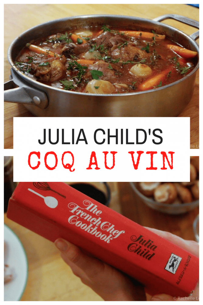 Julia Child's recipe for Coq Au Vin