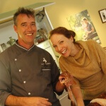 Chef Kevin Dundon and Rachelle