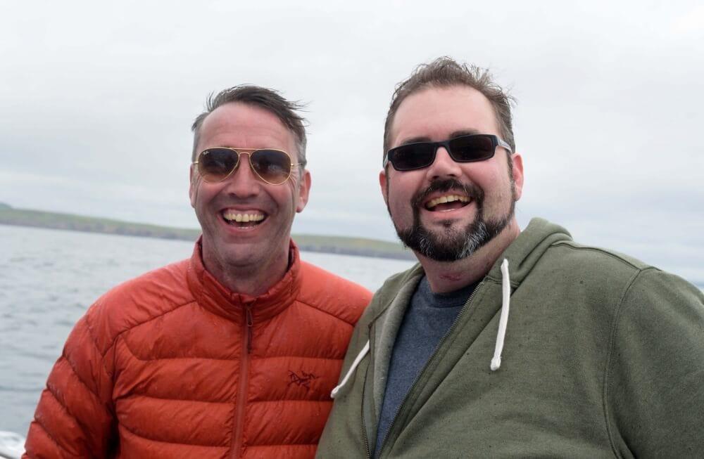 Chef Kevin Dundon & Aaron.