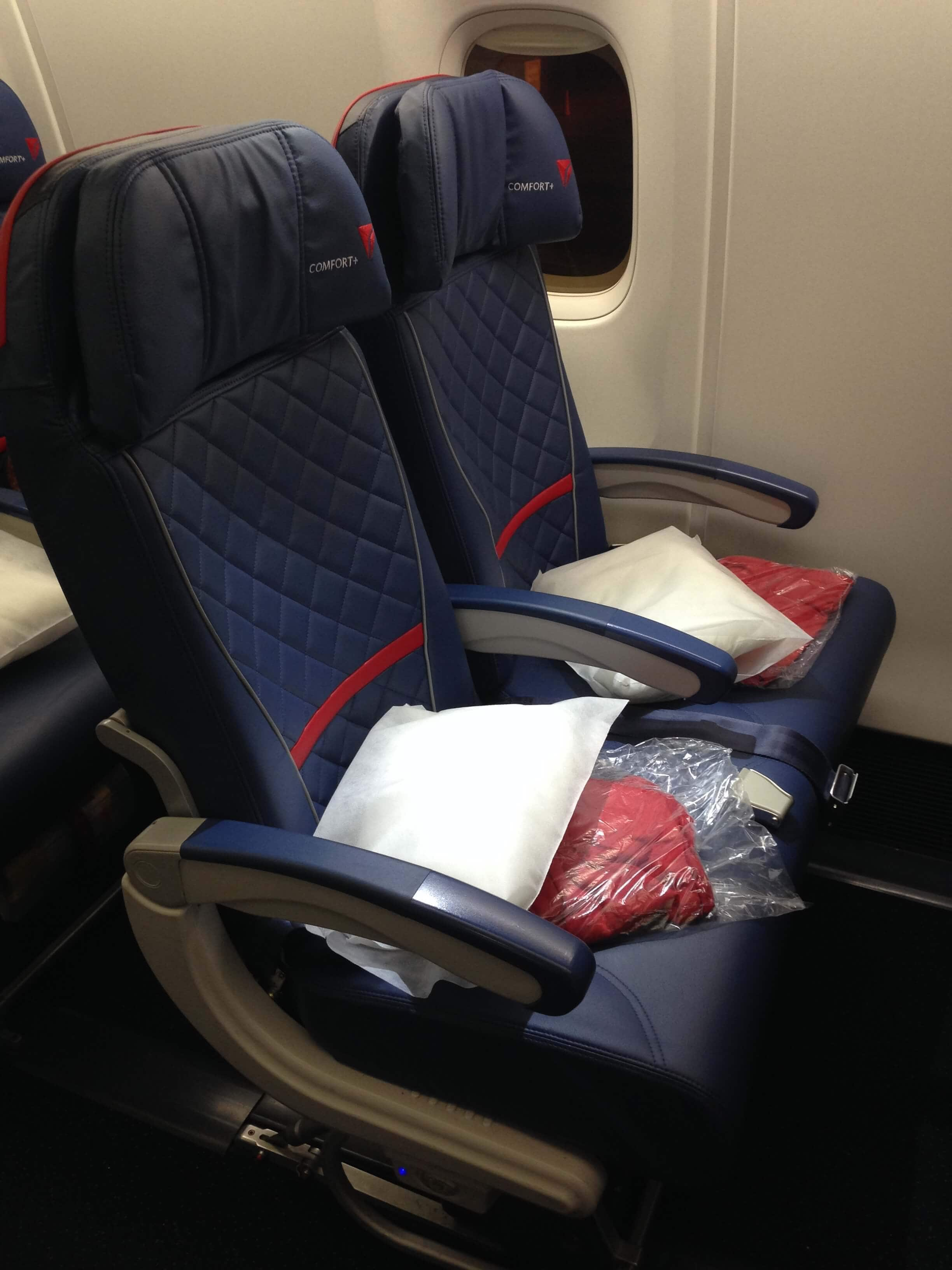 Delta Comfort Plus Review - The Travel Bite
