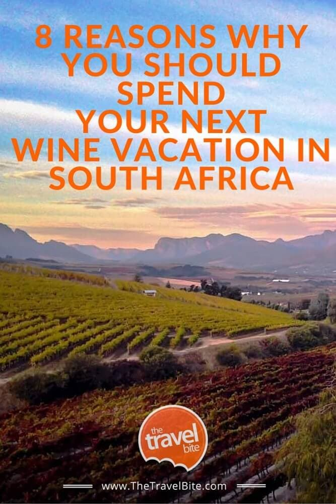 8 Reasons Why You Should Spend Your Next Wine Vacay In South Africa