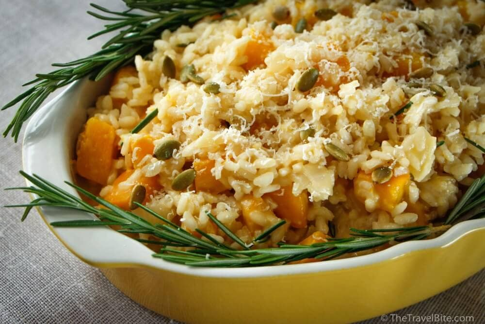 Pumpkin Risotto Recipe - TheTravelBite.com