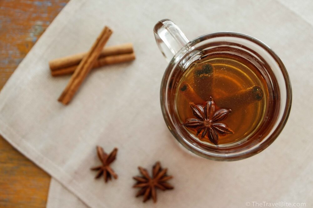 Canelazo Hot Spiced Cinnamon Rum