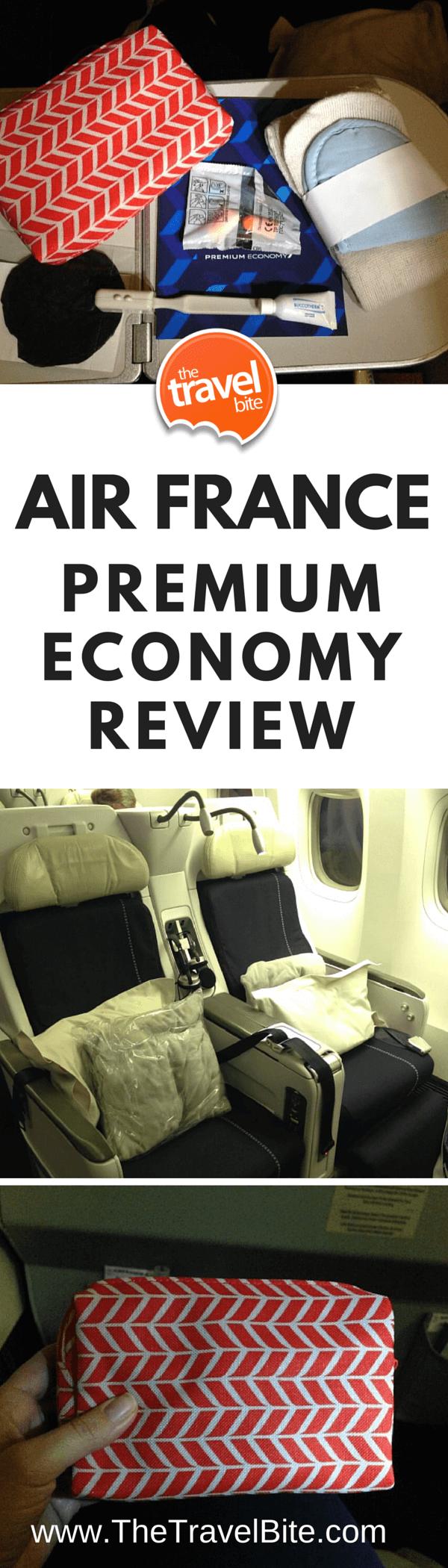 Air France Premium Economy Review-2