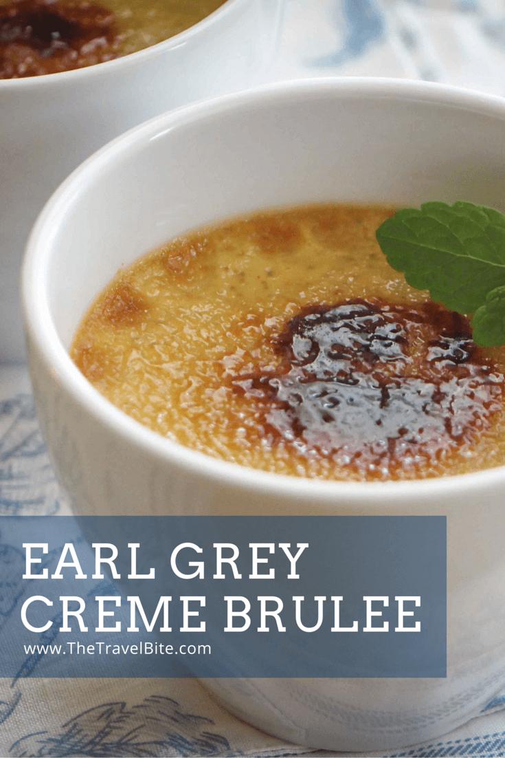 Earl Grey Creme Brulee