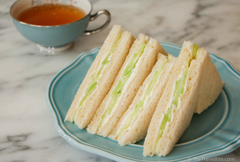 Cucumber Tea Sandwiches - TheTravelBite.com