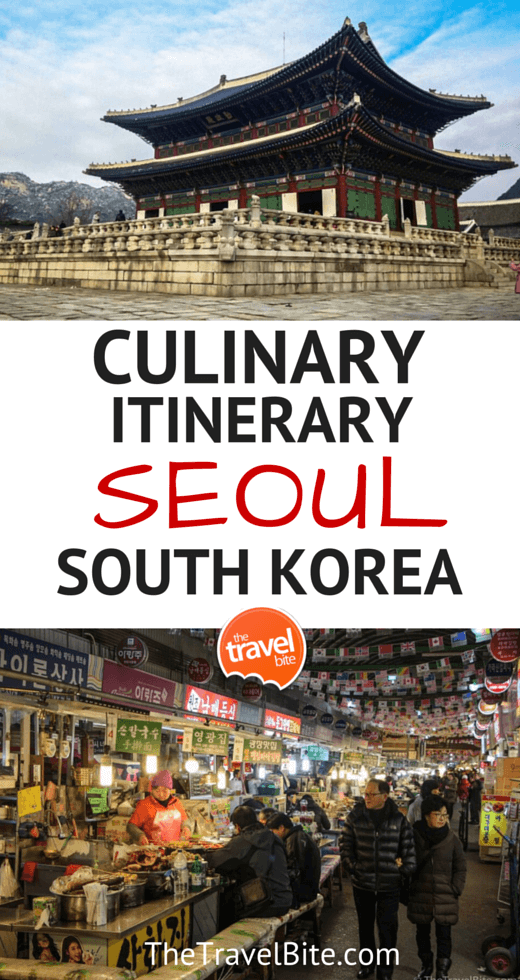 CULINARY ITINERARY SOUL SOUTH KOREA-2
