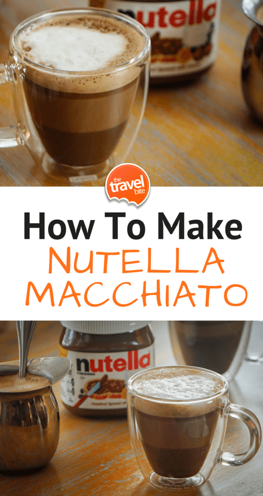 How To Make A Nutella Macchiato At Home