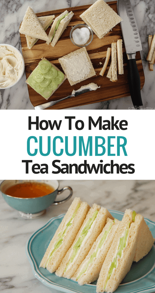 How To Make Cucumber Tea Sandwiches